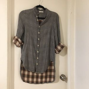 Free People Duofold Shirt